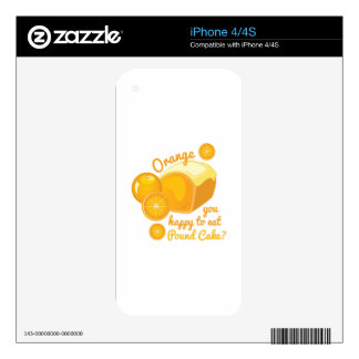 Pound Cake Skin For The iPhone 4