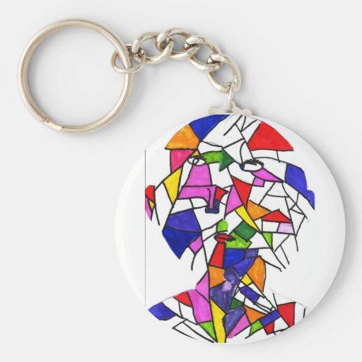 Pound-Maggie S Basic Round Button Keychain
