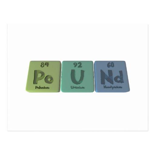 Pound-Po-U-Nd-Polonium-Uranium-Neodymium.png Tarjeta Postal