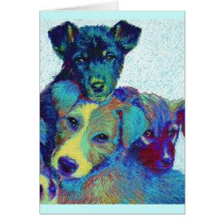 pound puppies card