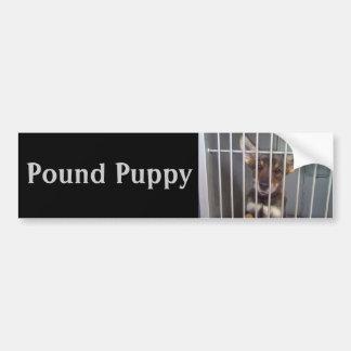 Pound Puppy Bumper Sticker