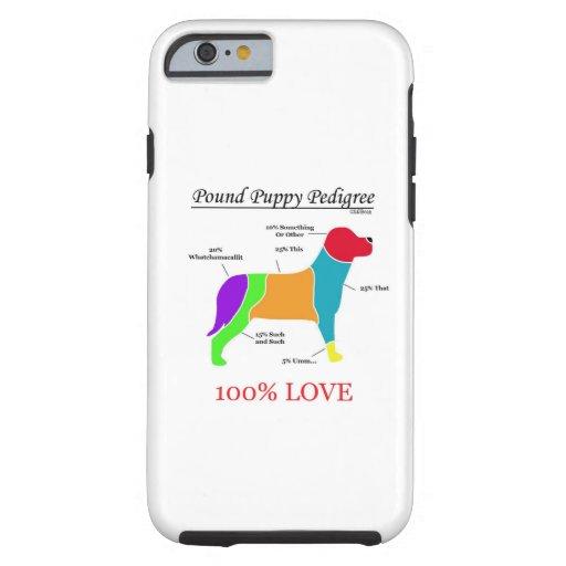 Pound Puppy Pedigree iPhone 6 Case