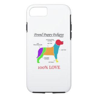 Pound Puppy Pedigree iPhone 8/7 Case