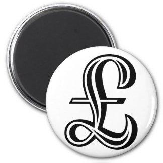 Pound Sign - Black Magnet