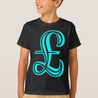 Pound Sign - Cyan T-Shirt