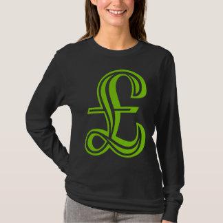 Pound Sign - Martian Green T-Shirt
