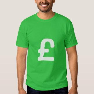 Pound sterling t-shirt