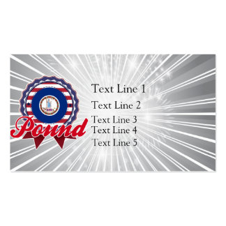 Pound, VA Double-Sided Standard Business Cards (Pack Of 100)