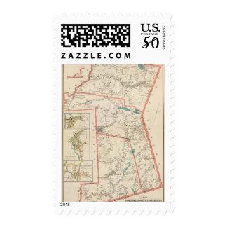 Poundridge, Lewisboro, N Salem towns Postage