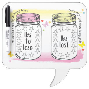 weight loss dry erase presentation boards message boards zazzle