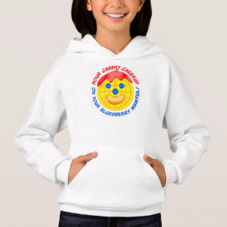 """""""Pour Cheery Cheerup On Your Bluesberry Wawful!"""" Hoodie"""