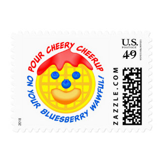 """""""Pour Cheery Cheerup On Your Bluesberry Wawful!"""" Postage"""