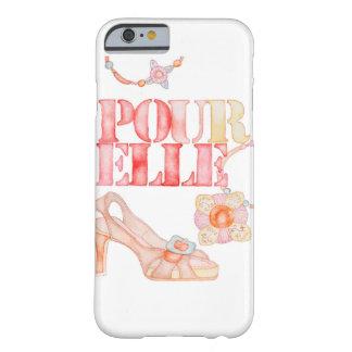Pour Elle iPhone 6/6s Plus cover case