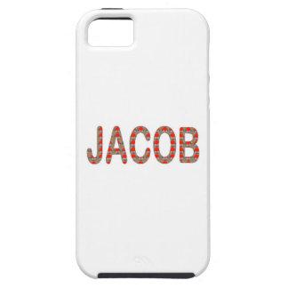 Pour JACOB Name  artist NavinJOSHI artistique GIFT iPhone SE/5/5s Case