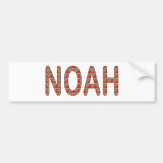 Pour NOAH: ARTIST NavinJOSHI gifts artistique Car Bumper Sticker