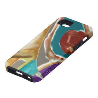 Pour While Hot - Agua y Chocolate y Morada iPhone SE/5/5s Case