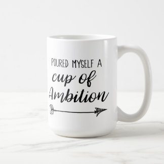 Poured Myself a Cup of Ambition