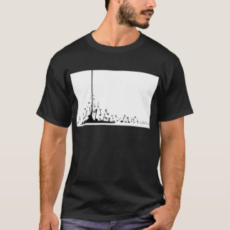 Pouring Musical Notes T-Shirt