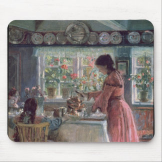 Pouring the Morning Coffee, 1906 Mouse Pad