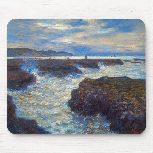 Pourville by Claude Monet Mouse Pad