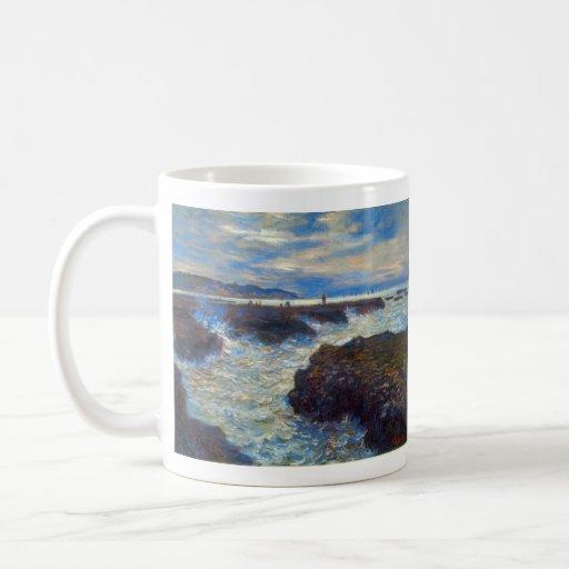Pourville by Claude Monet Mugs