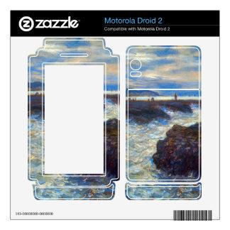 Pourville by Claude Monet Motorola Droid 2 Decal