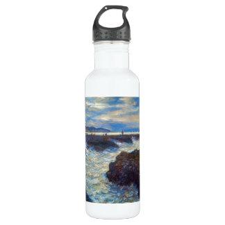 Pourville by Claude Monet Water Bottle