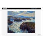 Pourville de Claude Monet 35,6cm Portátil Calcomanía