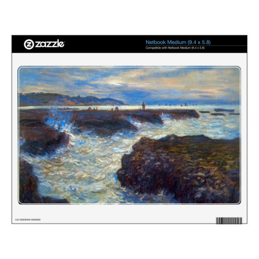 Pourville de Claude Monet Netbook Skin