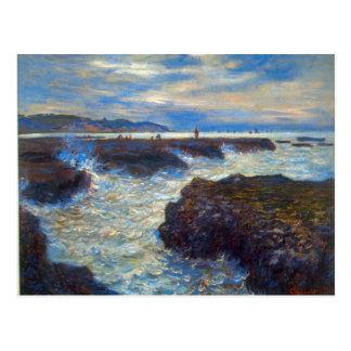 Pourville de Claude Monet Tarjeta Postal