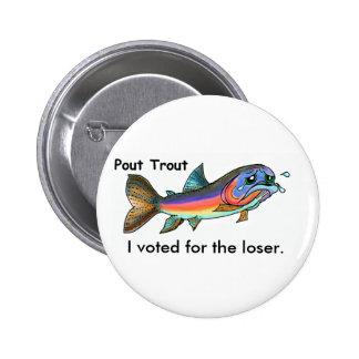 Pout Trout Buttons