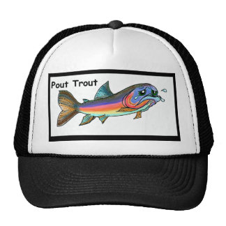 Pout Trout Trucker Hat