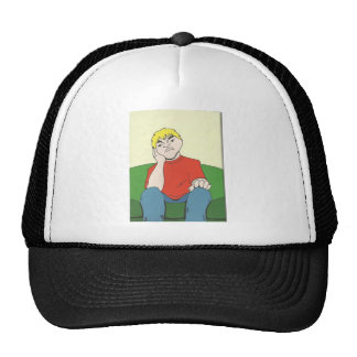 pout trucker hat