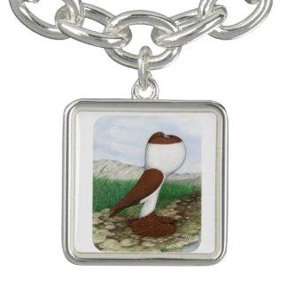 Pouter Pigeon Red Hana Bracelets