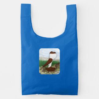 Pouter Pigeon Red Hana Reusable Bag
