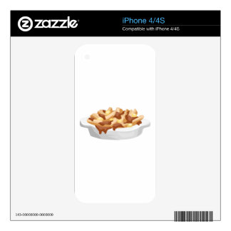 poutine skin for iPhone 4