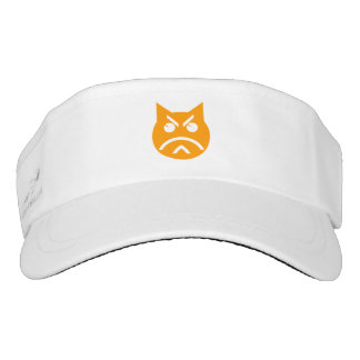 Pouting Emoji Cat Visor