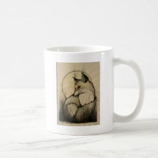 POUTY FOX COFFEE MUG