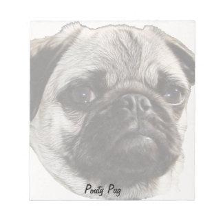 Pouty Pug Note Pad