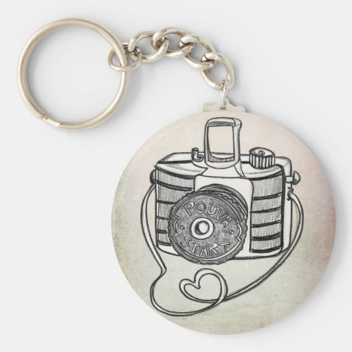 POUVA LOVE IN COLOR BY VOL25 KEYCHAIN