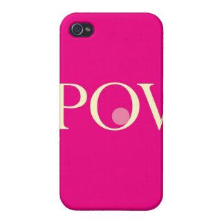"""""""POV """" iPhone 4/4S CARCASAS"""