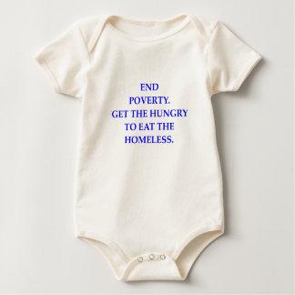 POVERTY BABY BODYSUIT