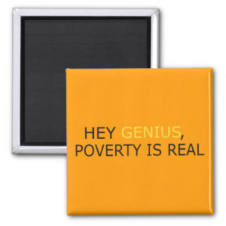 Poverty Is Real Magnet