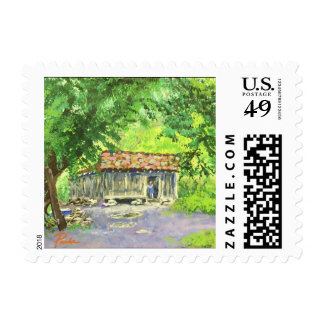 """Poverty"" Original Art Stamps"