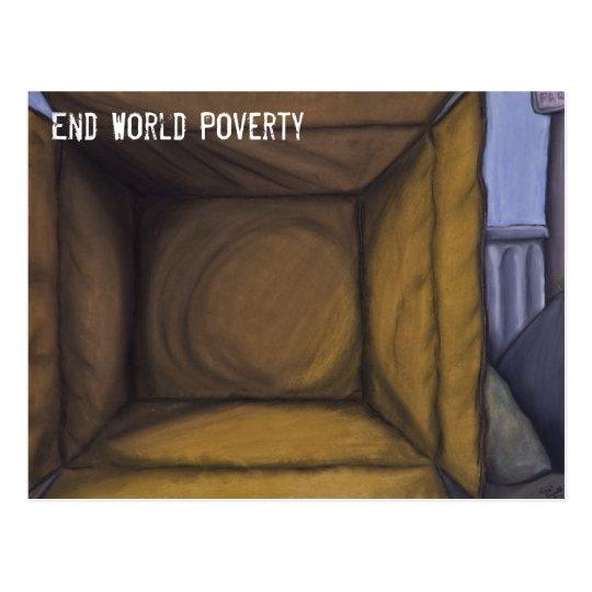 Poverty Postcard
