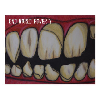 Poverty Post Card