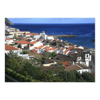 Povoaçao - Azores 5x7 Paper Invitation Card