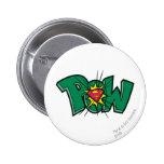 Pow 2 Inch Round Button