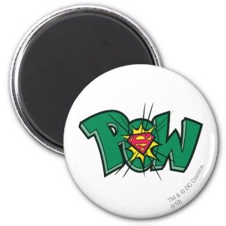 Pow 2 Inch Round Magnet