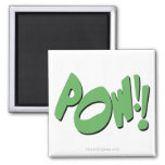 POW!! 2 INCH SQUARE MAGNET